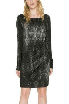 Desigual - šaty Formal Dresses, Fashion, Dresses For Formal, Moda, Formal Gowns, Fashion Styles, Formal Dress, Gowns, Fashion Illustrations