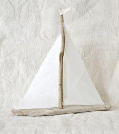 drift wood boat