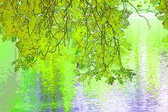 'Frühling über dem See' von Dirk h. Wendt bei artflakes.com als Poster oder Kunstdruck $18.02