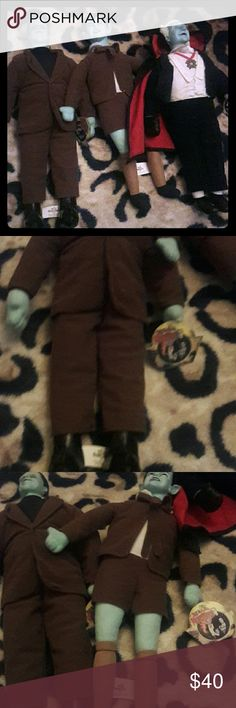 🚨TODAY ONLY $30 munsters dolls Still in good condition with tags only 3 dolls the munsters Other