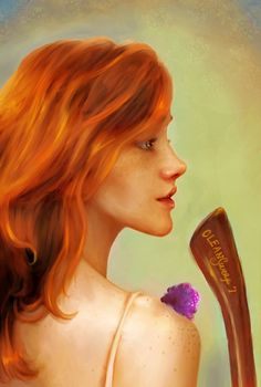 Pictures of harry potter and ginny weasley fan art - Harry Potter Gif, Arte Do Harry Potter, Harry Potter Books, Harry Potter Universal, Harry Potter Characters, Harry Potter World, James Potter, Female Characters, Ginny Weasley