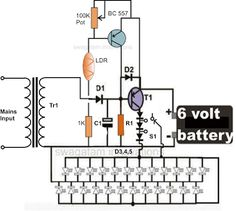 parking lights circuit diagram schematic or electronic. Black Bedroom Furniture Sets. Home Design Ideas