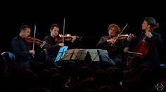 """Franz Schubert: String Quartet No.14 in D minor """"Death and the Maiden"""" – Quatuor Ébène (HD 1080p) • http://facesofclassicalmusic.blogspot.gr/2016/08/franz-schubert-string-quartet-no14-in-d.html"""