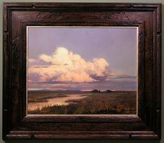 "Kevin Courter | ... Journal: Framing Paintings—I: Kevin Courter's ""Colusa Sunset"