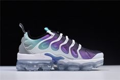 Womens Nike Air VaporMax Plus Grape White Fierce Purple-Aurora Green-Black  924453- a7d454c9e