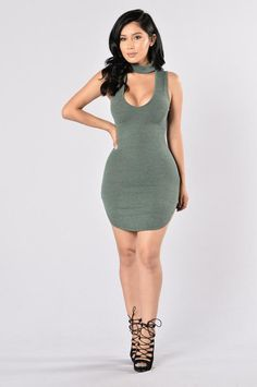 - Available in Wine and Olive - Deep V - Mock Neck - Sleeveless - Bodycon - 77% Polyester, 21% Rayon, 2% Spandex