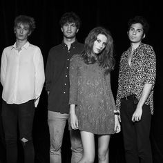 """Blush"" is new music by Indie act Wolf Alice. The single is part of their debut EP 'Blush' available on iTunes October via Chess Club. Music Love, Music Is Life, Live Music, New Music, Line Of Best Fit, The Wombats, Indie Music, My Favorite Music, Music Stuff"