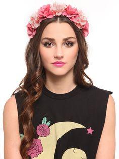 Rose Bloom Headband - Pink