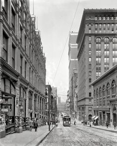 Pittsburgh City View, 1908