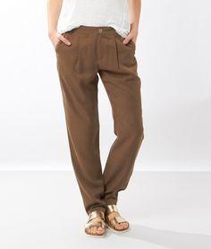 Pantalon fluide - DEEP - KAKI - Etam