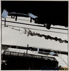 Elis Hoymann, Venedig, Übermalung 8, Fotografie mit der analogen Mittelformatkamera, schwarz/weiß, vergrößert auf Baryt-Papier und übermalt mit Acryl, 20 x 19 cm, 2001 / 2012, 340 €
