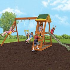 Sears $379.99 Big Backyard by Solowave 'Madison' Play System