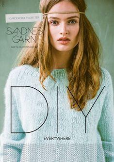 1513 DIY Garderobefavoritter fra Sandnes Garn - Køb 1513 DIY Garderobefavoritter her Kobe, Pullover, T Shirts For Women, Knitting, Chic, Arrow Keys, Close Image, Magazines, Projects