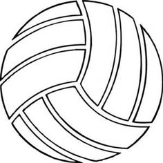 free volleyball clipart black and white bing images volleyball rh pinterest com volleyball clipart images volleyball clipart images
