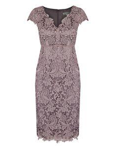 Blush Guipure Lace Dress