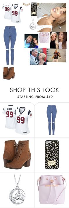 """""""The game"""" by banks-on-it ❤ liked on Polyvore featuring NIKE, Topshop, Madden Girl, MICHAEL Michael Kors, Disney, Ted Baker and Accessorize"""