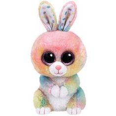 TY Beanie Boos - BUBBY the Bunny (Glitter Eyes) (Regular Size - 6 in) (Pre-Order ships Spring)