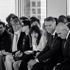 """New picture of Dakota at Hugo Boss Fashion Show. """