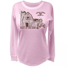 John Deere Womens Thermal Barn Shirt | RunGreen.com