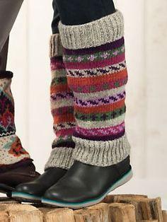 Women's Handknit Boot Sweaters | Sahalie.com #Boots #Socks #Knit