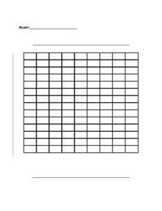 Blank Bar Graph or Double Bar Graph Template | Bar graph template ...