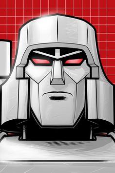 Megatron Portrait Series by Thuddleston.deviantart.com on @deviantART