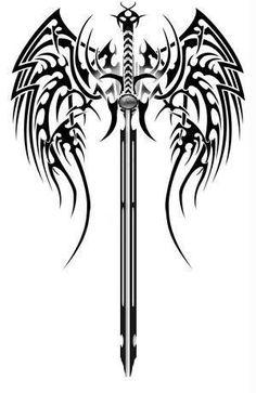 Ideas Tattoo For Guys Celtic Crosses - Tattoo Designs Men Celtic Cross Tattoos, Celtic Tribal, Viking Tattoos, Celtic Crosses, Celtic Sword Tattoo, Body Art Tattoos, Tattoo Drawings, Sleeve Tattoos, Tatoos