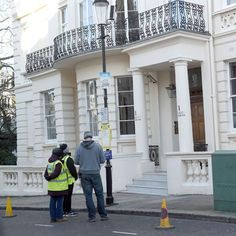 Stanley Gardens, in Notting Hill, London. Bond's apartment location in 'Spectre'.