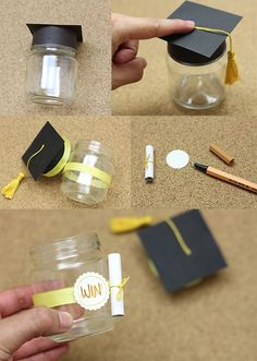graduation celebration grad gifts graduation presents If you think being a graduate is something that needs to be celebrated then here are some Unique Graduation Party Ideas for High School to dope on. Graduation Crafts, Graduation Presents, Kindergarten Graduation, Graduation Celebration, Graduation Decorations, High School Graduation, Grad Gifts, Graduation Ideas, Graduation Party Favors