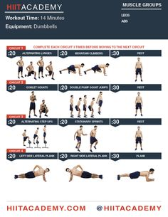 Impossible Leg & Ab HIIT Workout