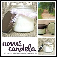 Bring the scent of a fresh muddy mountain dirt blended with moist mossy notes to any room with our made to order Mountain Dirt Soy Scented Candle.  As a purist every candle I make is scented with fragrance or pure essential oil and are 100% dye free giving my candle an ivory color. Made in small batches each candle has a cotton wick and is hand pour into rustic 4 or 8 ounce mason jars with a rustic lid. Perfect for the any room.  http://ift.tt/2jlq8Zi  #etsian #etsysale #smallbiz…