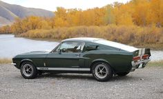 '67 Shelby Mustang GT500 #mustangclassiccars #mustangvintagecars