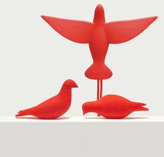 Beautiful 3D Printed Bookmark of a Dove - My Modern Metropolis
