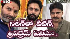 Nitin New Movie in Pawan Kalyan and Trivikram Production