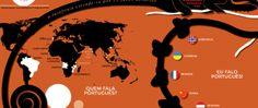 Língua Portuguesa Um retrato animado do quarto idioma mais falado do mundo. http://www.redeangola.info/multimedia/lingua-portuguesa/