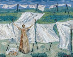 La lavandaia, Arturo Martini. Italian (1889 - 1947)