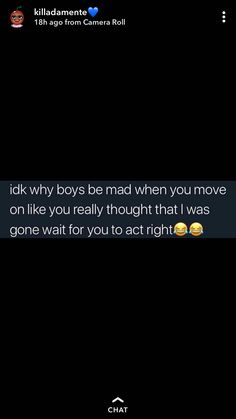 He gonna end up getting booted in a few 🗣🙅 Real Life Quotes, Fact Quotes, Mood Quotes, True Quotes, Qoutes, Caption Quotes, Bff Quotes, The Words, Petty Quotes
