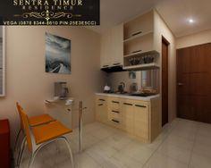 View kitchen dari unit apartemen Sentra TImur Residence type 21 (Studio).  http://sentratimur.vegaaminkusumo.com #sentratimur               #apartemen   #jual_apartemen #apartemen_murah #sentra_timur #sentra_timur_residence #desain  #desain_apartemen #desain_minimalis   #minimalis #living_room #sentratimurresidence