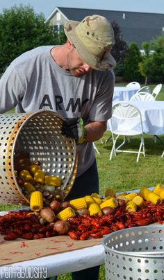 Crawfish Boil Party