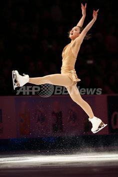 浅田がエキシビションに登場、スケート・アメリカ 国際ニュース:AFPBB News