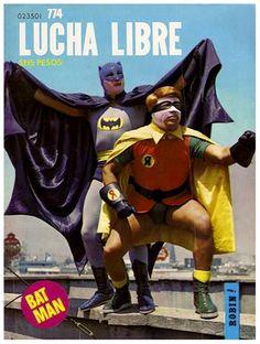 Batman and Robin, Luchadores
