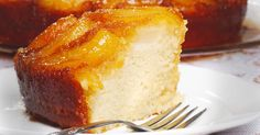 We are always looking for new and exciting dessert recipes around our house, and this one really takes the cake; the upside down pear cake, that is.