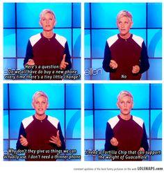 Oh, Ellen!