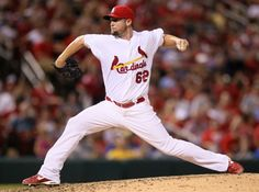 Cardinals v Los Angeles Dodgers Barret Browning LHR
