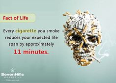 What is the average lifespan of a smoker?