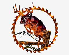 Excited to share this item from my shop: Whitetail Buck Deer Jumping Fishing & Hunting Lodge Sawblade Metal Wall Art Outdoor Metal Wall Art, Metal Art, Deer Jumping, Mountain Cabin Decor, Mountain Homes, North Carolina Lighthouses, Hunting Lodge Decor, Bow Hunter, Buck Deer