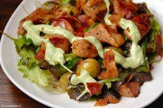 Maaltijdsalades worden vooral veel gegeten in de zomer. Toch kan een maaltijdsalade in de winter ook heel erg lekker zijn!