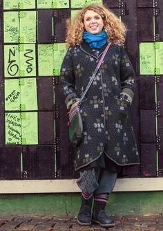 """Takki """"Vibeke"""" huovutettua villaa – Tanska – GUDRUN SJÖDÉN - vaatteita verkossa ja postimyynnissä"""