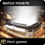 Get tickets for a Real Madrid match