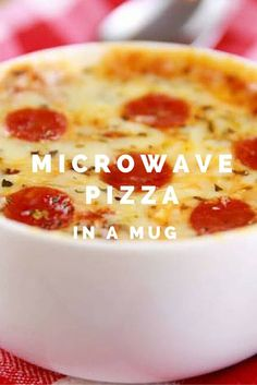 Here S How You Make Microwave Pizza In A Mug